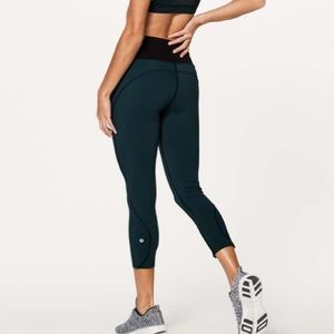 "Lululemon Run The Day Crop (17"")"